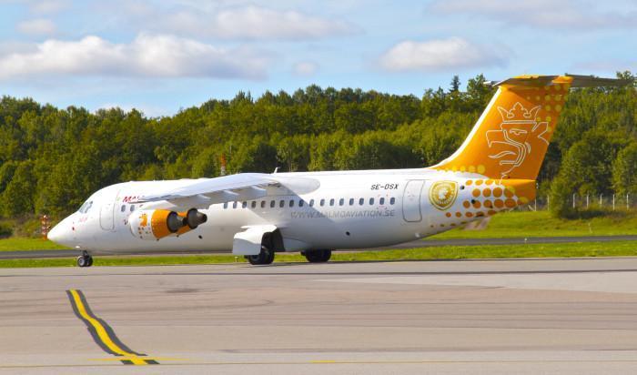flyg östersund malmö aviation