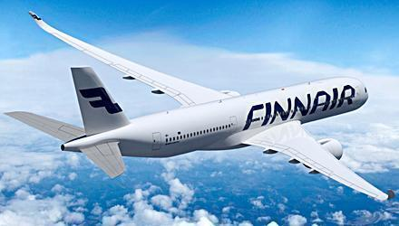 Passagerarlyft för Finnair i januari.