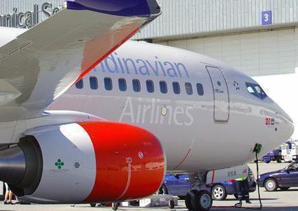Boeing 737-700, Scandinavien Airlines Norge