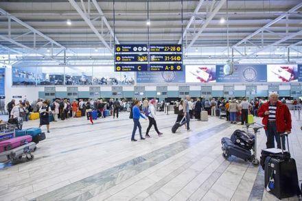 Nio av Swedavias tio flygplatser kunde räkna in fler passagerare i januari.