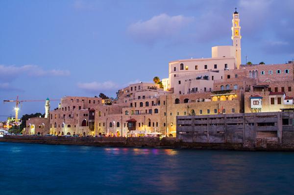 hamnen i Jaffa