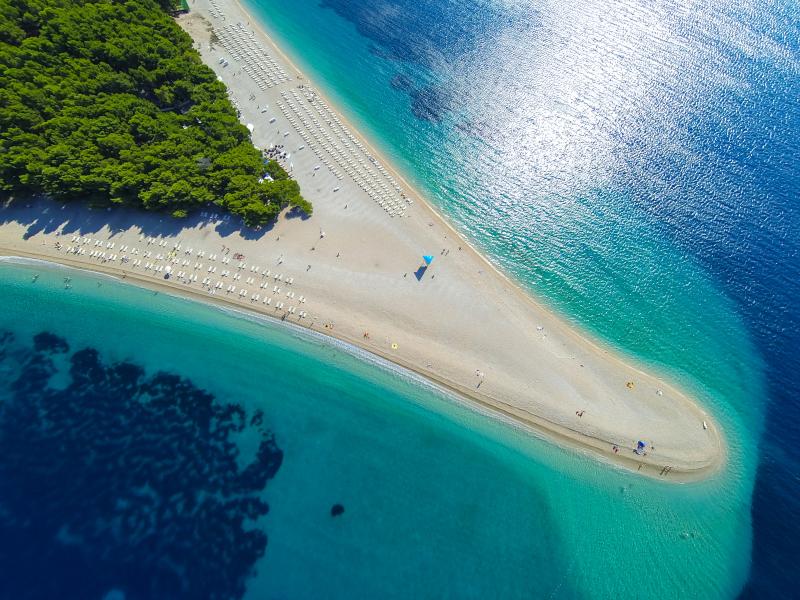Kroatien Brac Island