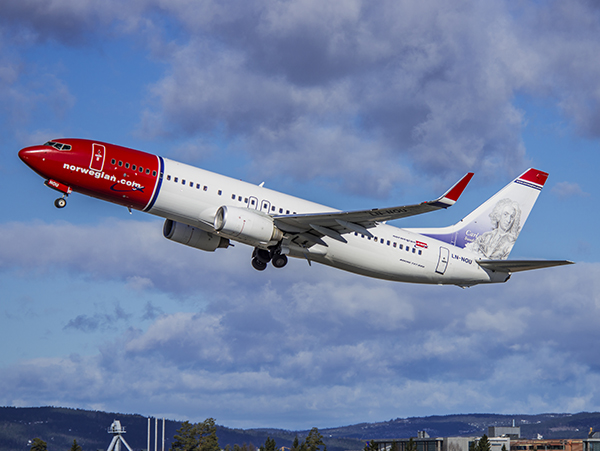 Norwegian plan som lyfter