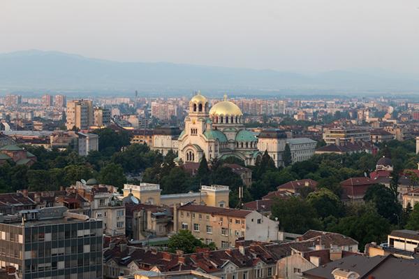 Alexander Nevski katedralen i Sofia