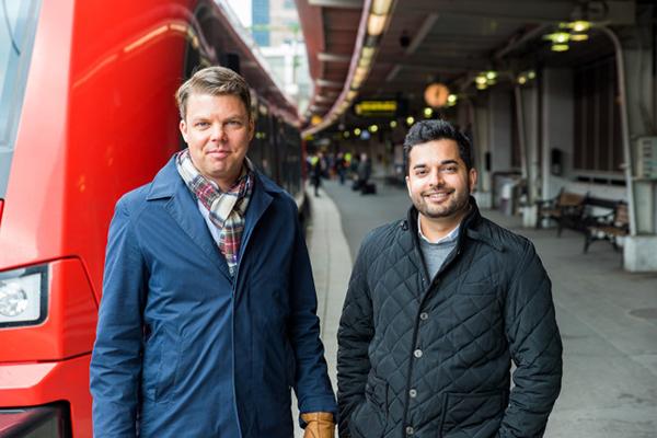 Alok Alström och Johan Söör