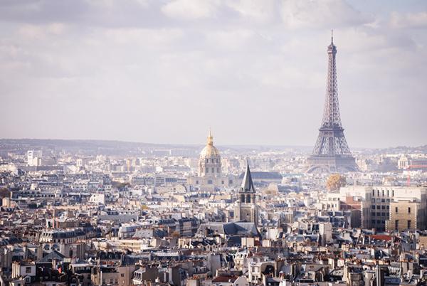 Paris stadsbild