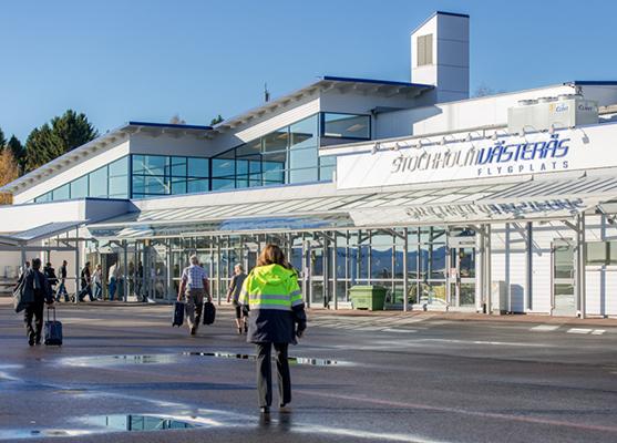 Västerås får fler reguljära utrikeslinjer.