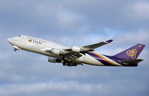 flyg thailand inställt