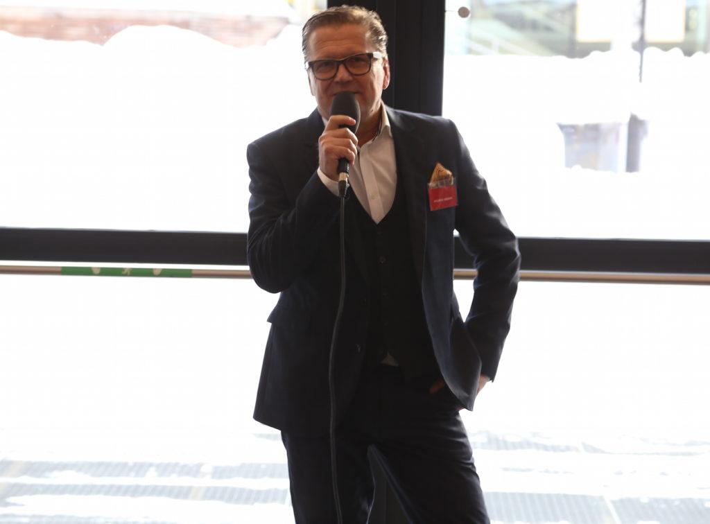 Travel News Markets projektledare Andréas Näsman hälsar alla välkomna.