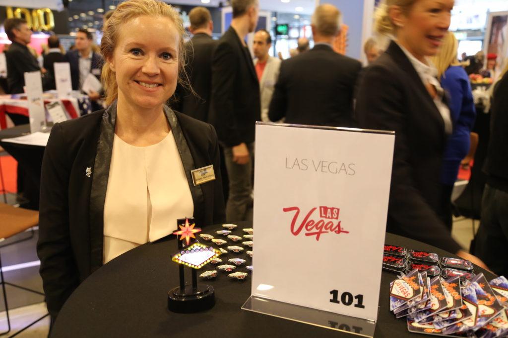 Helene Hofverberg på Related representerade Las Vegas.