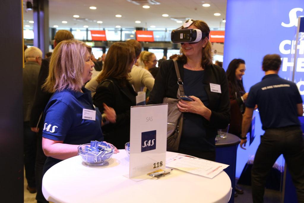 SAS bjöd på en virtuell resa till Hongkong.