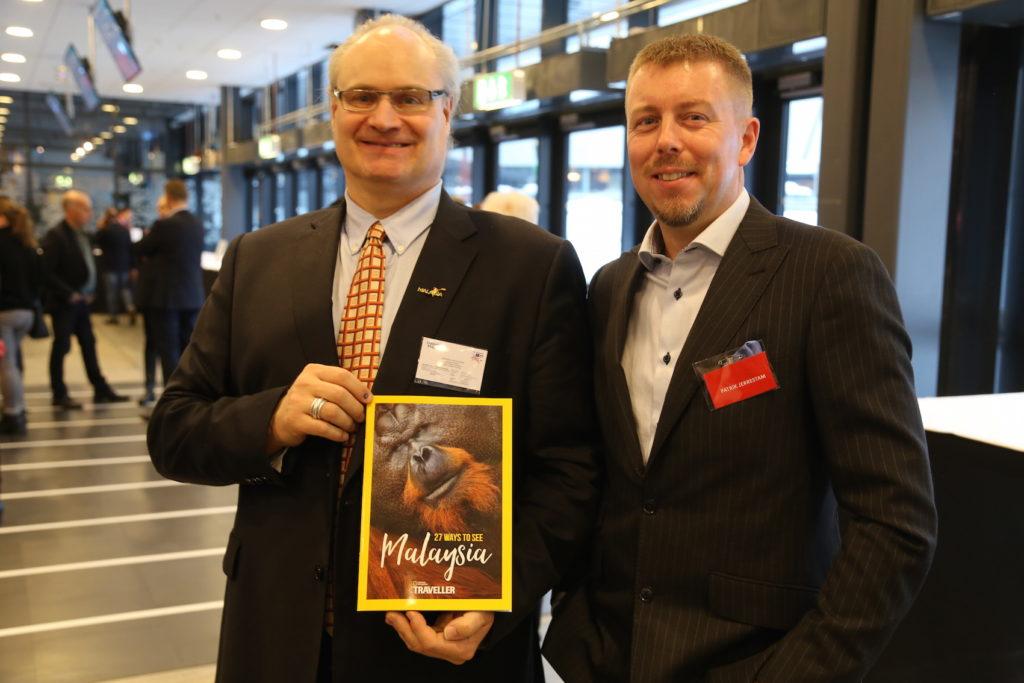 Stephan Hoffström på Malaysia Tourism och Travel News egen Patrik Jerrestam.