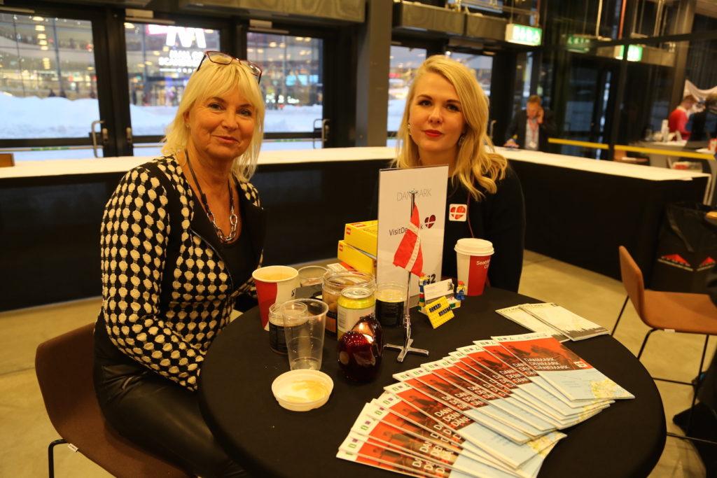 Agneta Åstrand och Clara Maria Larsson från Visit Denmark.
