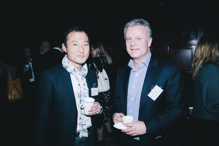Martin Creydt, Pandox, och Fredrik Utheim, Stockholm Meeting Selection, smälter intrycken med te och kaffe.