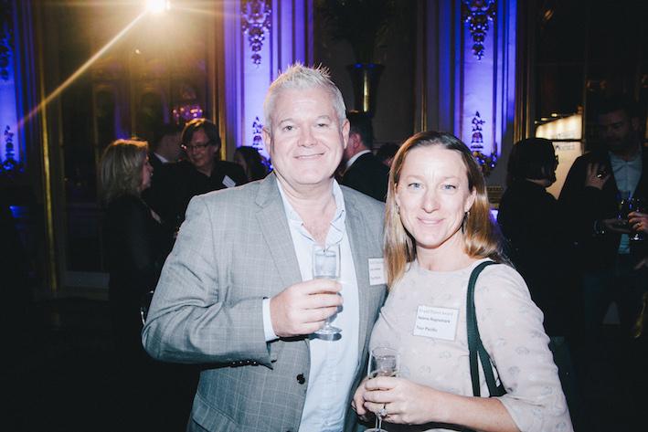 Lars Jönsson och Helena Ragnemark från Tour Pacific. Foto: Olof Grind