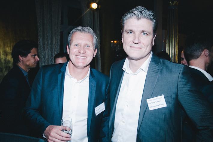 Peter Browall och Leif Vase Larsen på Apollo. Foto: Olof Grind