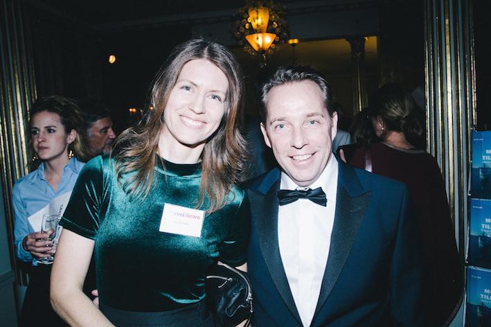 Ellen Jurell och Nils Norberg från Travel News. Foto: Olof Grind