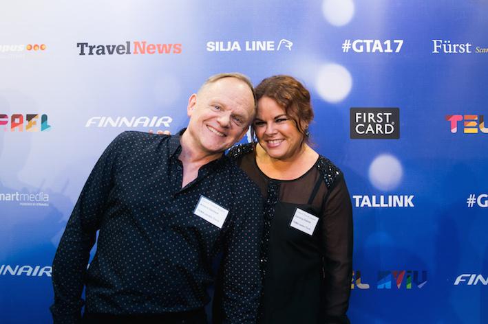 Anders Sävbark och Caroline Edefalk från TEMA/Jambo Tours. Foto: Olof Grind