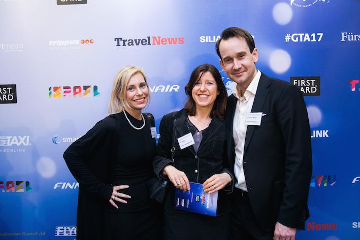 Lina Sjölund, Liniz Travel, Iris Müller, Tyska Turistbyrån, och Christian Muda, Matochresebloggen. Foto: Olof Grind