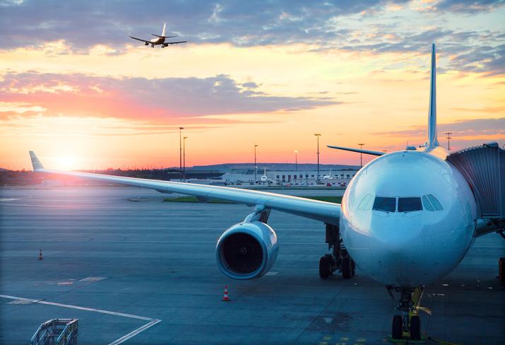 Flygstrejk i frankrike